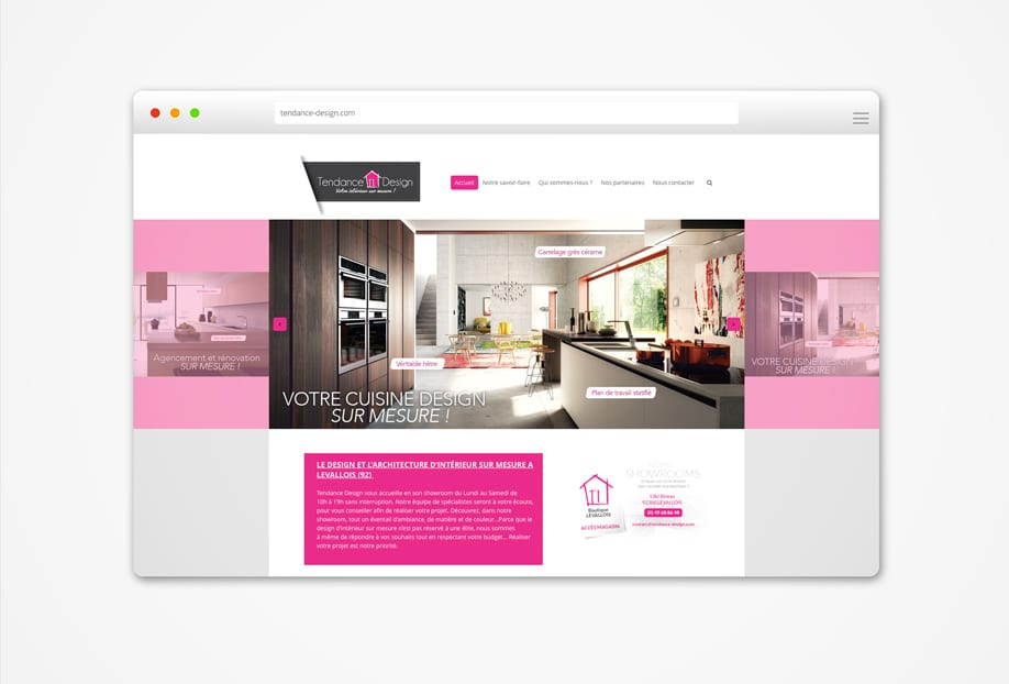 création site tendance design