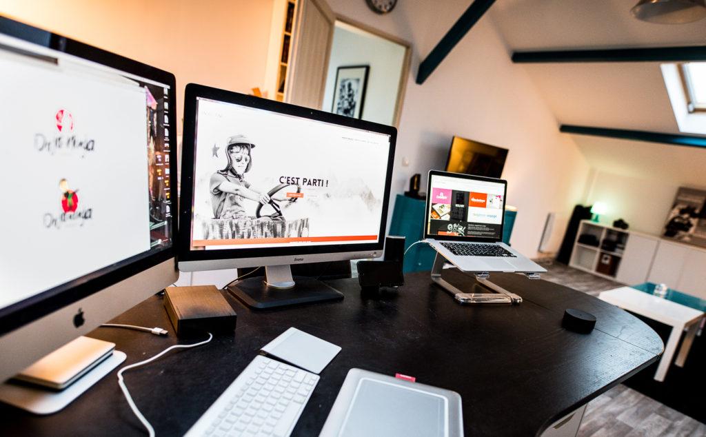 Bureau d un graphiste freelance graphiste freelance